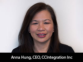 """Anna Hung, CCIntegration Inc CEO: """"At CCI, we do more than put your software in a box. We deliver solutions that meet your customer's needs—quickly, easily and transparently—every time, everywhere."""""""
