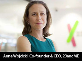 With a goal to help people access, understand, and benefit from the human genome, Anne Wojcicki, CEO of 23andMe has been at the forefront of the tremendous growth of the company