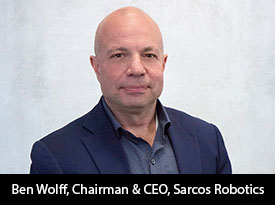 Sarcos Robotics – Revolutionizing the future of work across the private and public sectors through its advanced line of robotic products