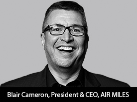 Bringing AIR MILES' Partners Closer to their Customers Through Personalized CRM, AI-powered Insights and Intuitive Analytics: In Conversation with President and CEO Blair Cameron