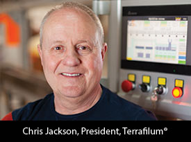 An Interview with Chris Jackson, Terrafilum<sup>®</sup> President 'We set our development goals high by stretching the limits using complex resins and sustainable materials.'