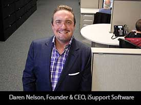 "Thesiliconreview ""We provide help desk software and customer support solutions to organizations all over the world"" iSupport Software"