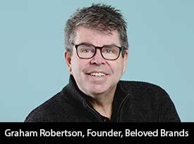 'We tackle your most challenging business issues and help you unlock new brand growth,' says the  Beloved Brands CMO, Graham Robertson