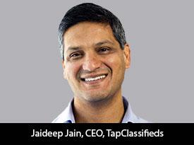 Jaideep Jain, CEO, TapClassifieds is taking Digital Marketing to Great Heights