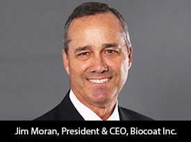 Jim Moran, Biocoat Inc. President and CEO: 'We are a Biochemical Manufacturing Company, Dedicated to Producing the World's Best Hydrophilic Coating Products'