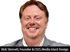 """""""We are a certified Google Partner company who's #1 Concern is the Online Success of our Clients"""" - Rick Simnett, CEO of Media Giant Design"""