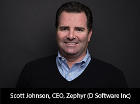 "Siliconreview ""Our management team comprises savvy entrepreneurs and industry experts, bringing years of experience to a growing company"": Zephyr (D Software Inc)"