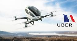 In a First: Ride-hailing Major Uber to Invest Millions in France, Build Flying Taxis