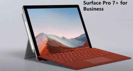 Microsoft Introduces its all new Surface Pro 7+ for Business purpose