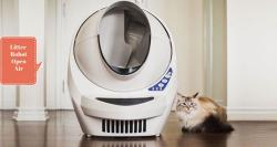 Now a Robot Helps Cat Owners Manage the Litter Box