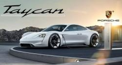Up-Close with the first electric car from Porsche: Taycan