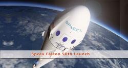 SpaceX's Falcon is all set for its landmark 50th launch!