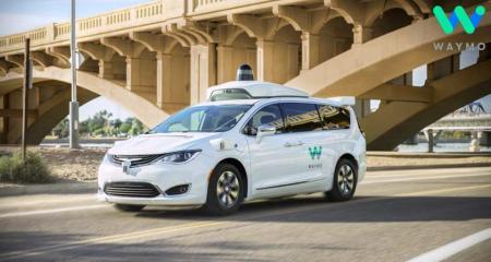 Autonomous Driving Company Waymo Begins Its Autonomous Taxi Service Test in San Francisco